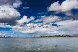 A look at the Arizona Memorial and the USS Missouri