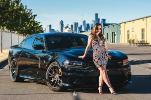 Tiffany and her Hellcat
