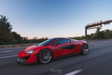 Will's McLaren 570S on I-90