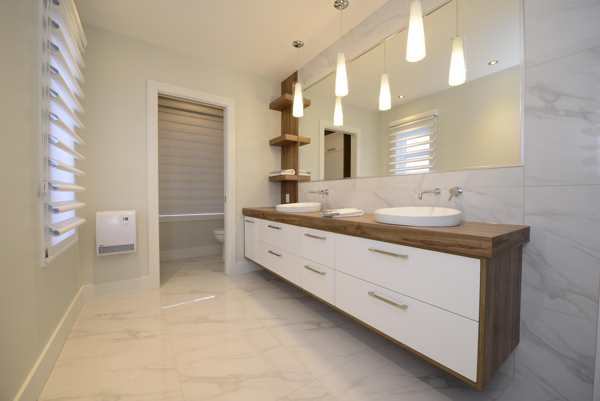 comment maximiser l espace et le rangement de la salle de bain cuisines armoben rive sud de montreal drummondville