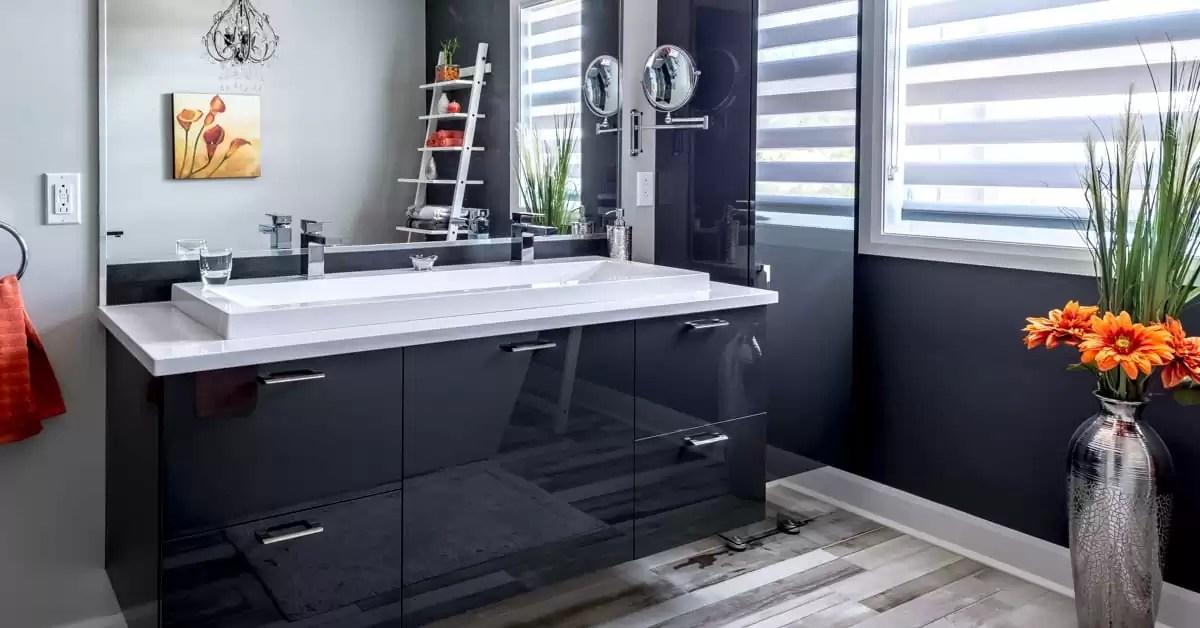 Effet Chic Intemporel Osez Le Noir Blanc Pour Votre Salle De Bain