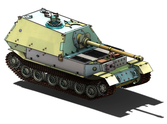 ARMORTEK 1:6 SCALE ELEFANT TANK