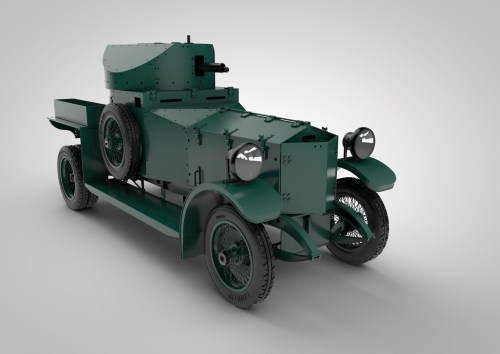 Armortek's 1:6 scale Rolls Royce Armoured car