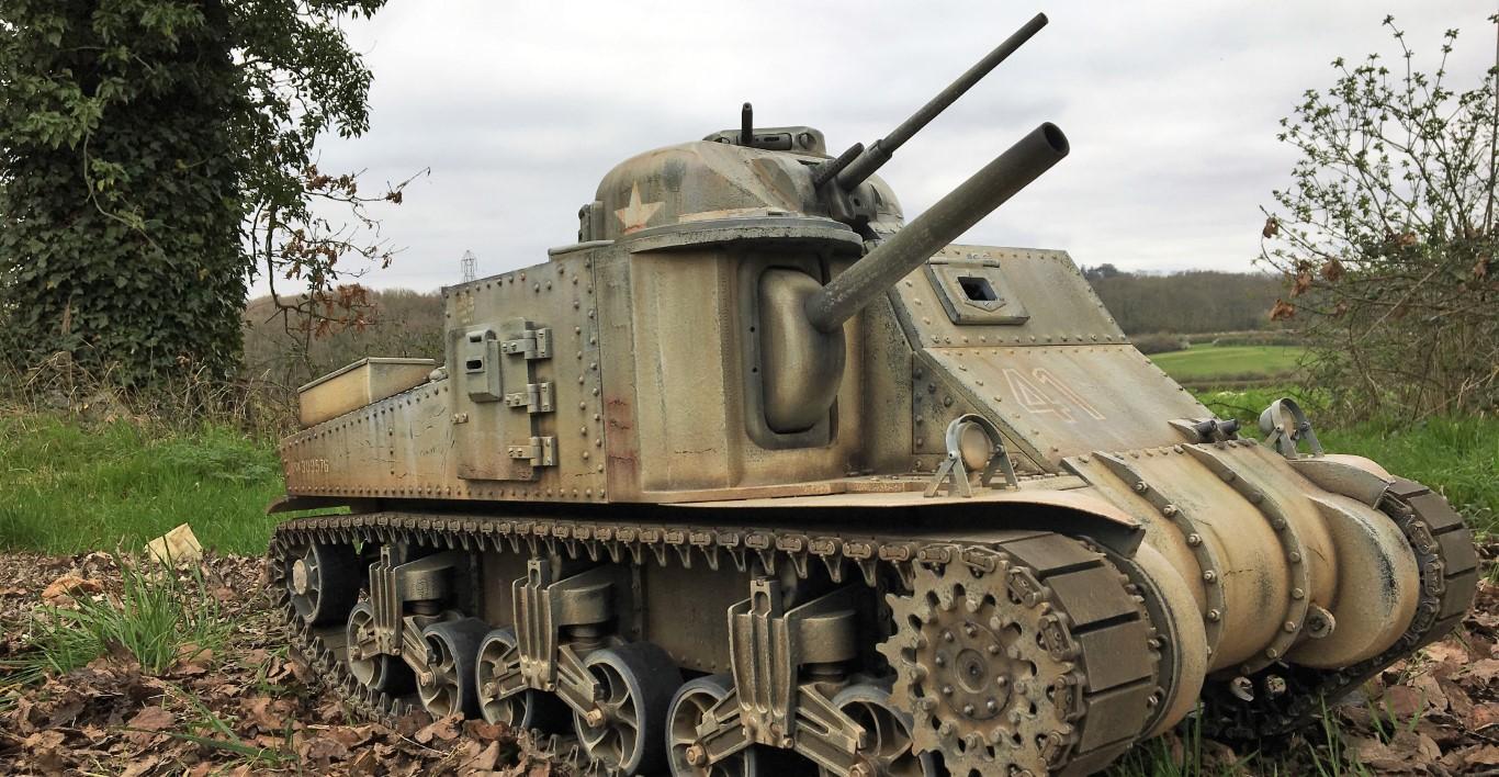 M3 Lee Tank - metal 1:6 scale - Armortek
