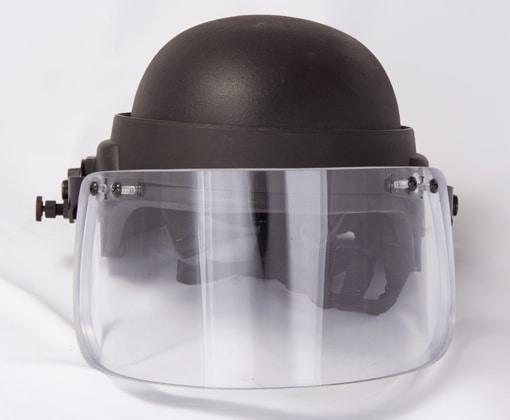 Vigard Visor Helmet Mounted Ballistic Face Shield