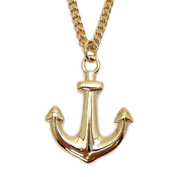 Gold anchor with scripture necklace xl armour in truth gold anchor necklace xl with scripture aloadofball Gallery