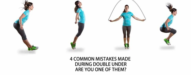 4 Common Double Under Mistakes and how to solve it!