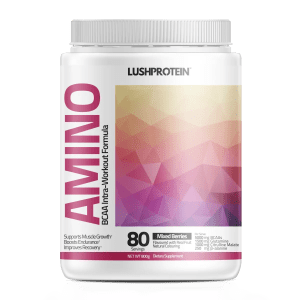 Amino intraworkout bcaa lush protein berry