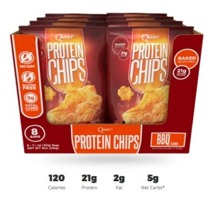 Quest Chips BBQ Box Protein