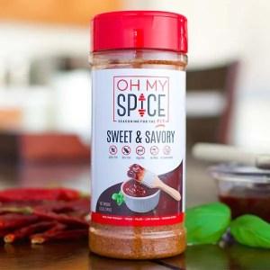 Oh My Spice Sweet & Savory Seasoning ArmourUP Asia Singapore