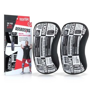 Rocktape Assassins Knee Sleeves Manifesto Pair ArmourUP Asia Singapore