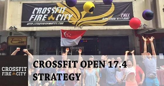 CrossFit Open 17.4 Strategy by Coach Samuel from CrossFit Fire City