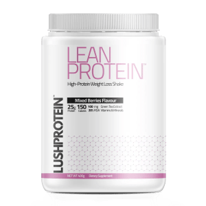 lushprotein lean protein mixed berries