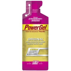PowerBar PowerGel Original 41g Strawberry-Banana Single ArmourUP Asia Singapore
