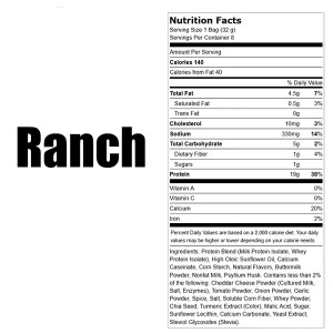 Quest Tortilla Style Protein Chips Ranch Box Nutrition Facts ArmourUP Asia Singapore
