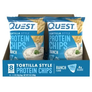 Quest Tortilla Style Protein Chips Ranch Box ArmourUP Asia Singapore