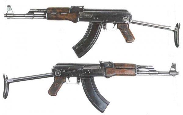 АК-47 автомат Калашникова - калибр, характеристики, фото