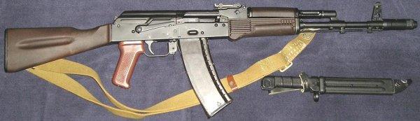 АК-74 автомат Калашникова - ттх, технические ...
