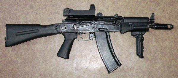 АКС-74У автомат Калашникова - характеристики, ттх, фото