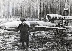 Самолет-снаряд ФАУ-1. Фото kz44.narod.ru