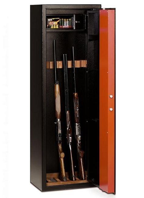 armoire a fusils t 709 9 armes avec lunettes coffre interieur
