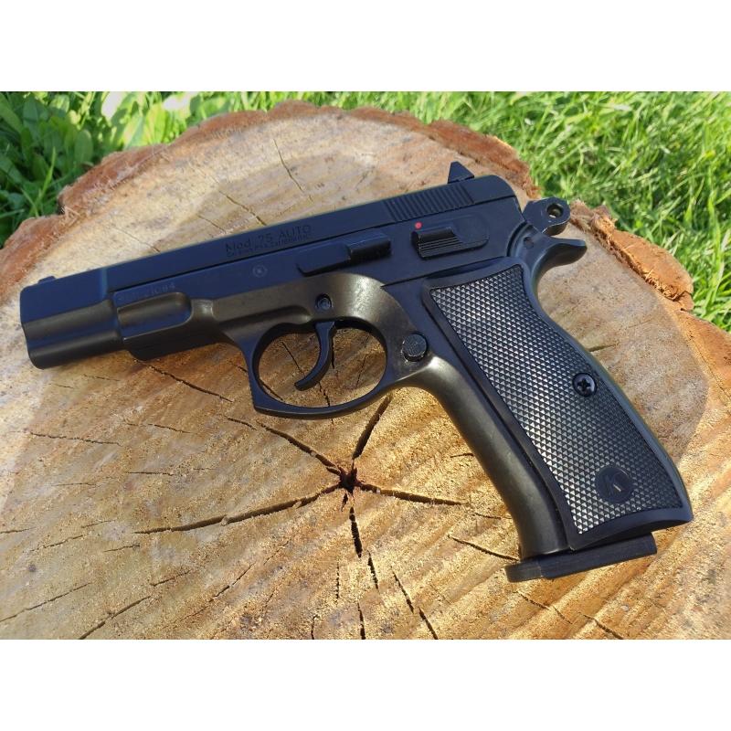 Pistolet Dalarme Automatique CZ75 Noir KIMAR Armurerie