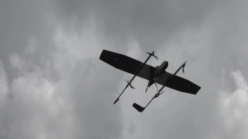 The Switch UAV offers a flight time of two hours. Image courtesy of ideaForge Technology.