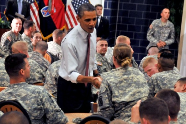 Obama thanks Soldiers, discusses Afghan drawdown at Drum ...