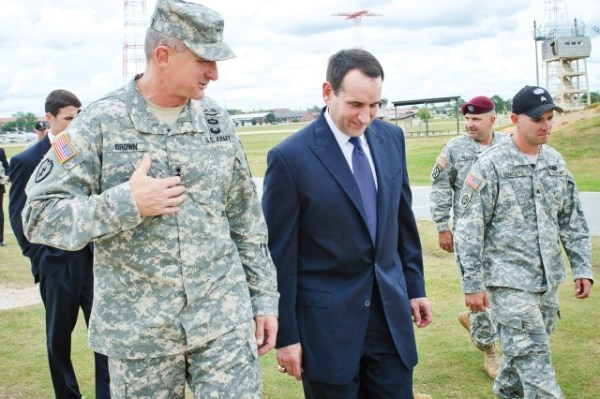 'Coach K' gives Soldiers pep talk | Article | The United ...