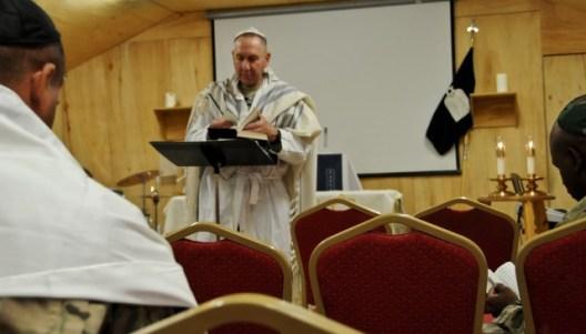 avi weiss conducting prayer in afghanistan