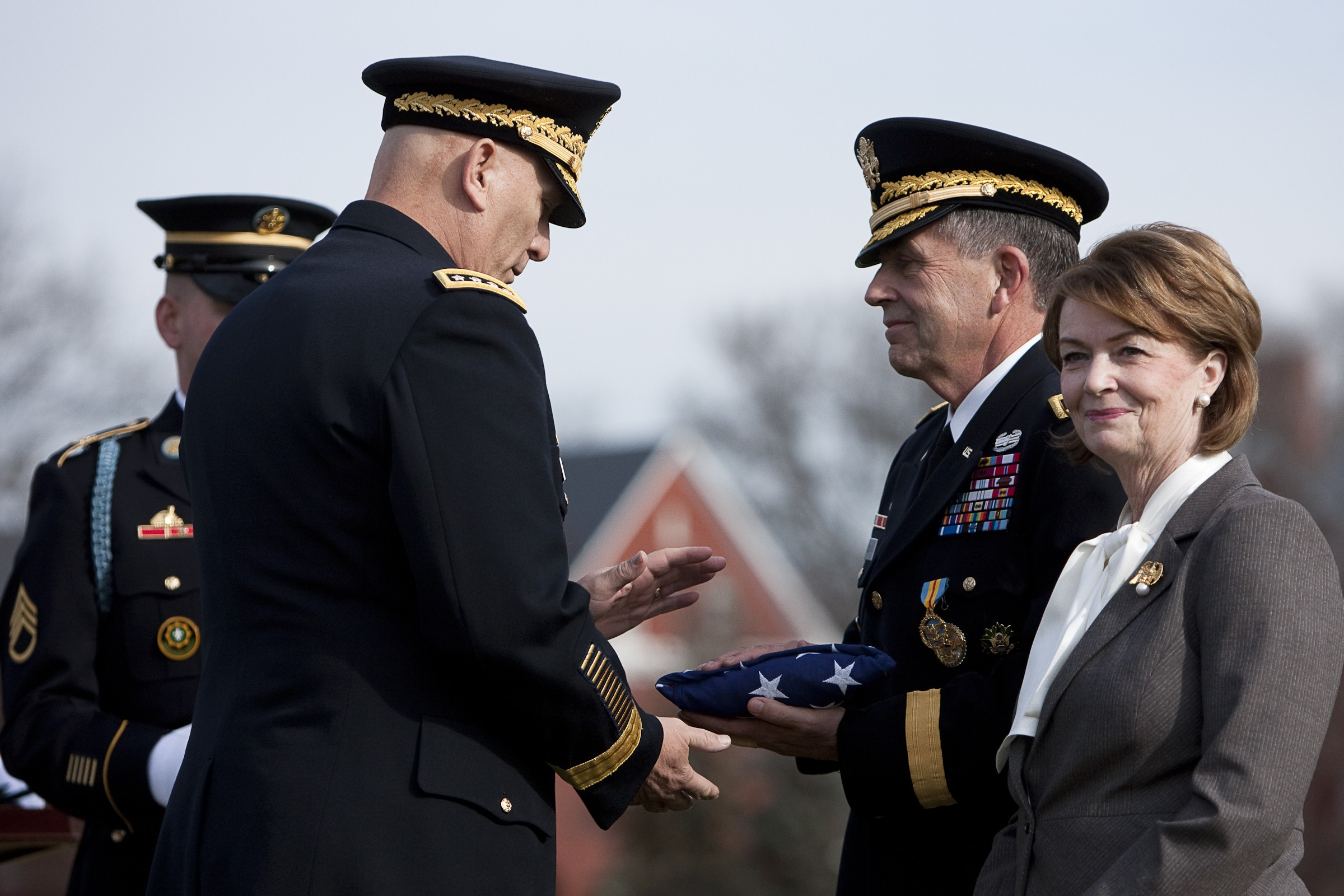 Army Vice Chief Retires After 40 Years Of Service