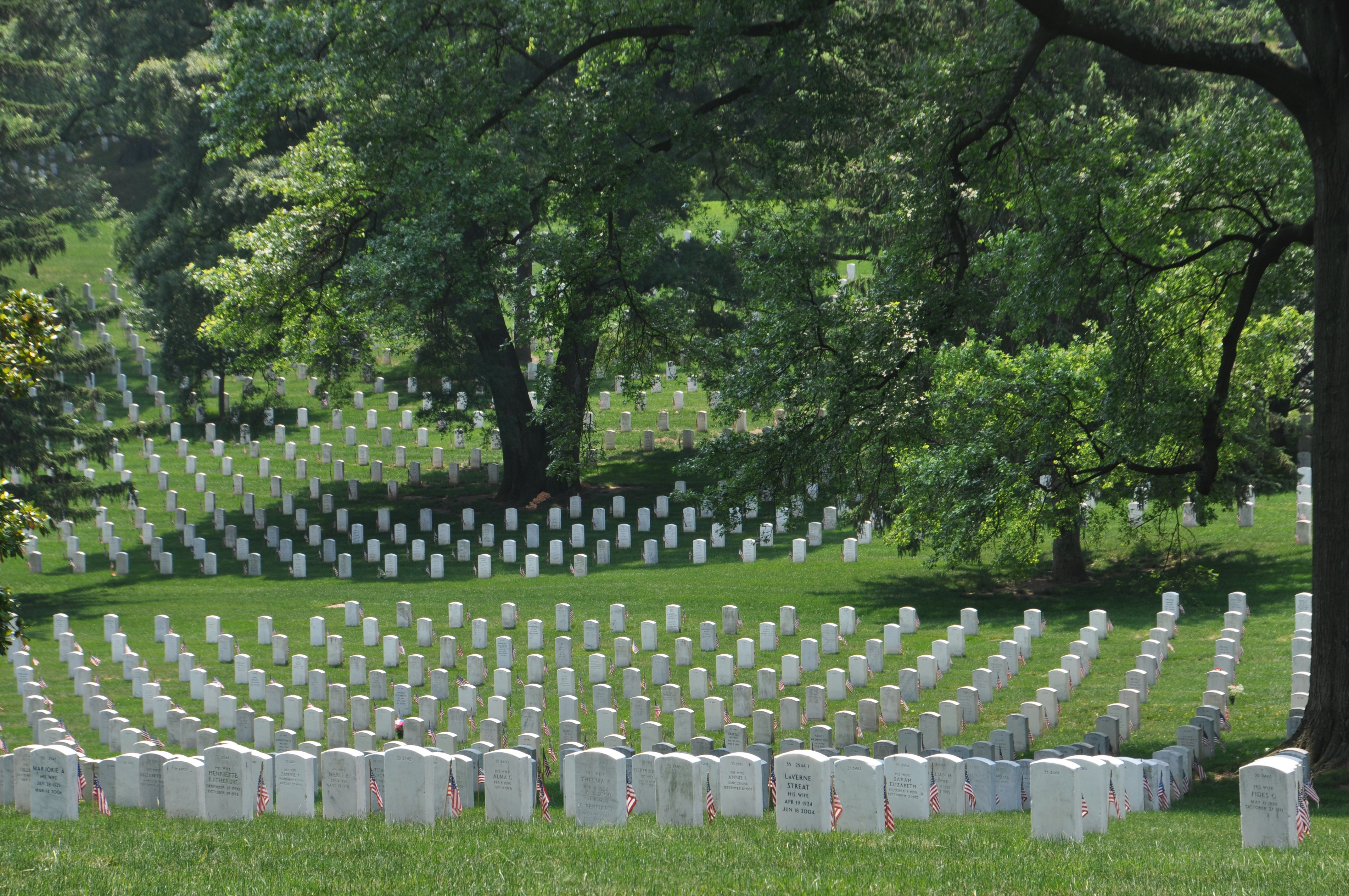 Arlington National Cemetery Employees Exempt From