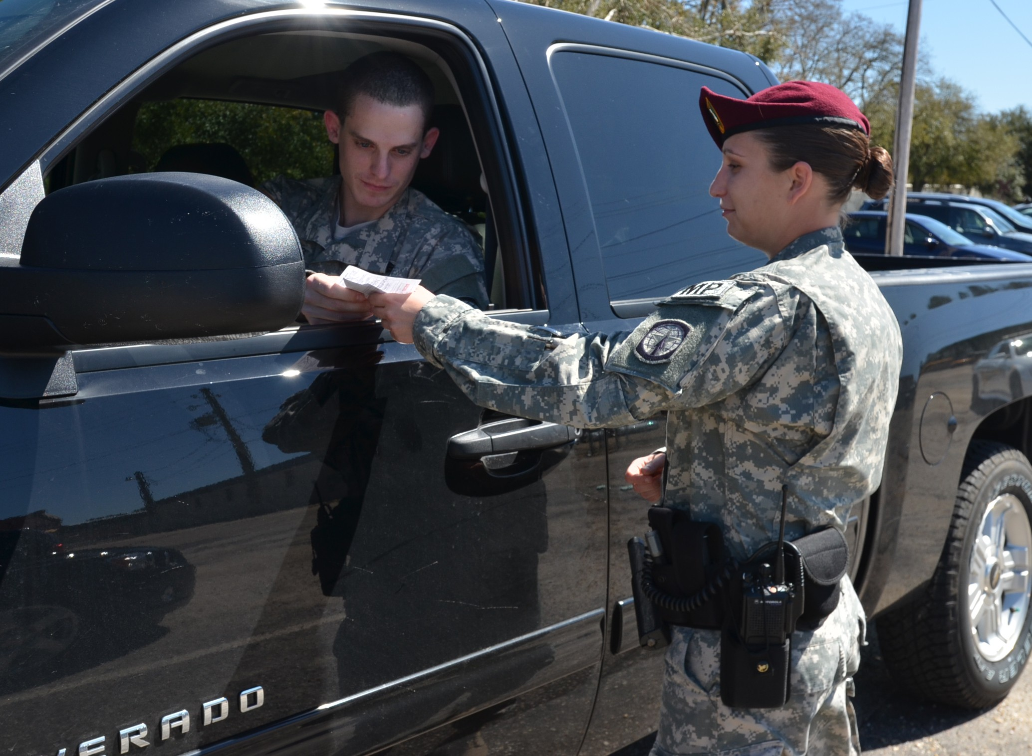 Fort Bragg Military Police Start Female Mentorship Program