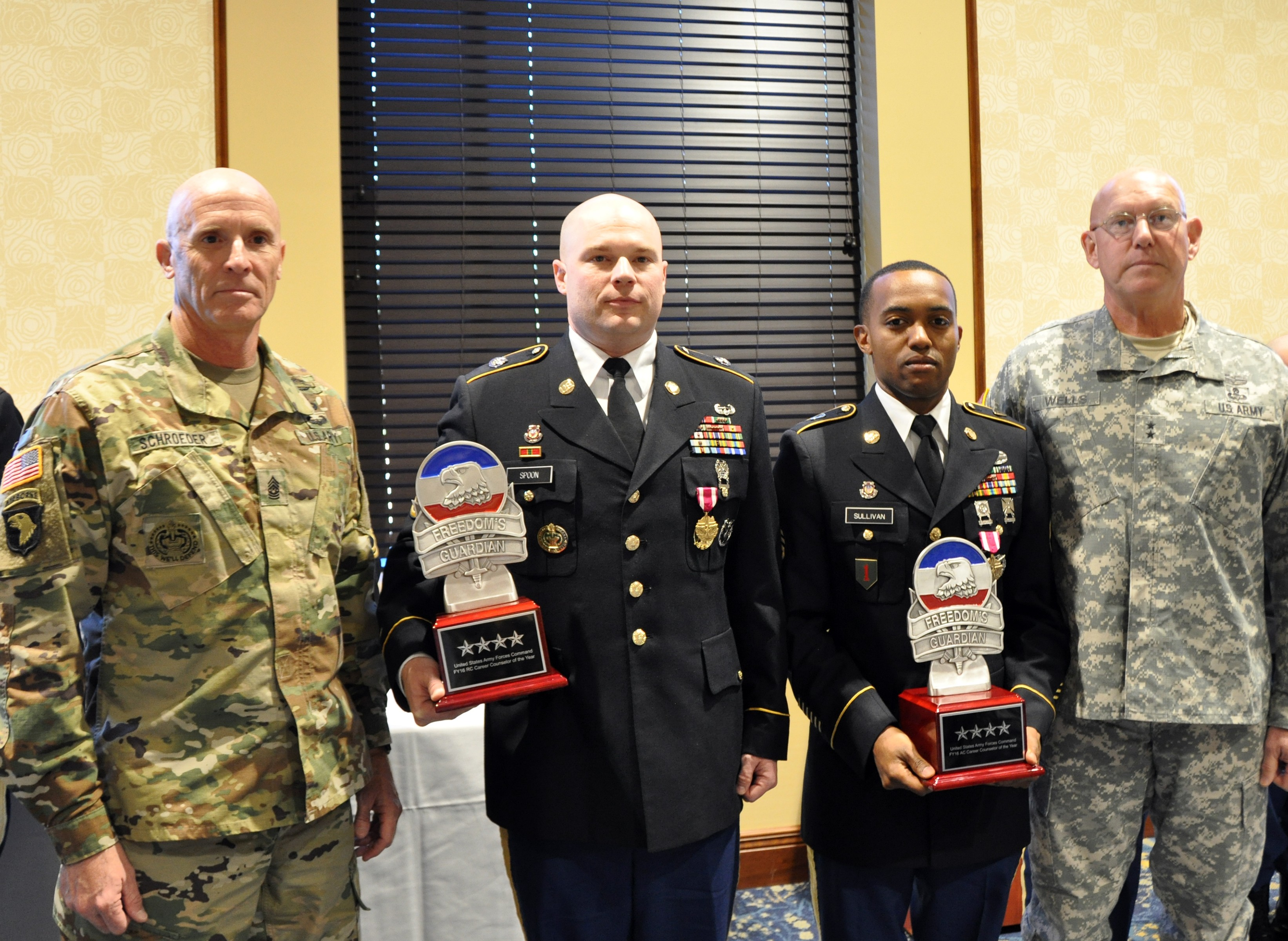 Forscom Names Fy Career Counselors Of The Year