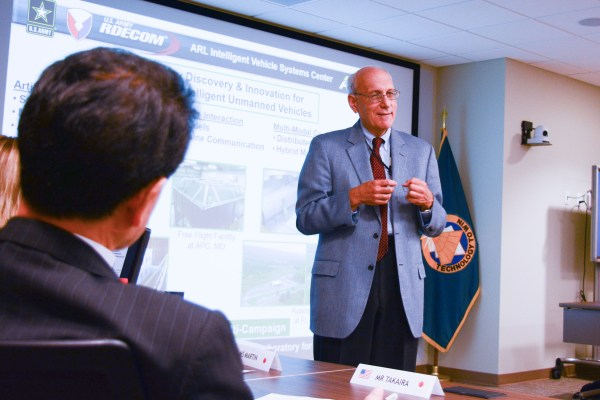 Japanese defense industry delegation visits Army lab ...