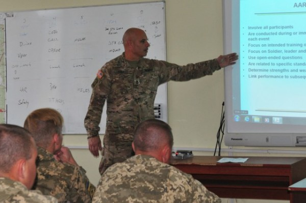 7th Army Training Command instructs future Ukrainian ...