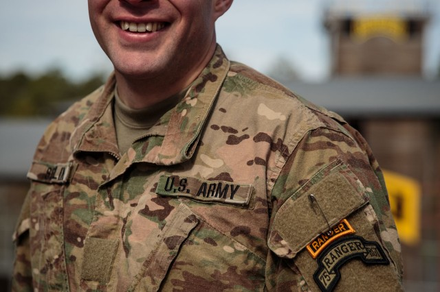 Spc. David Soflin, 75th Ranger Regiment, became the first junior enlisted Army multimedia specialist to graduated from the US Army Ranger School at Fort Benning on Jan. 27.
