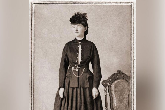 Mary Walker in a Bloomer dress, 1860s.