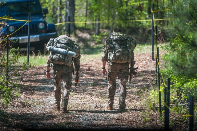 Capt. Michael Rose and Master Sgt. Josh Horsager of the 75th Ranger Regiment, took first place in the 2017 Best Ranger competition, held April 7-9, 2017, at Fort Benning, Georgia. The event is in its 34th year. The competition is designed to determine the best two-Soldier Ranger team in the Army.