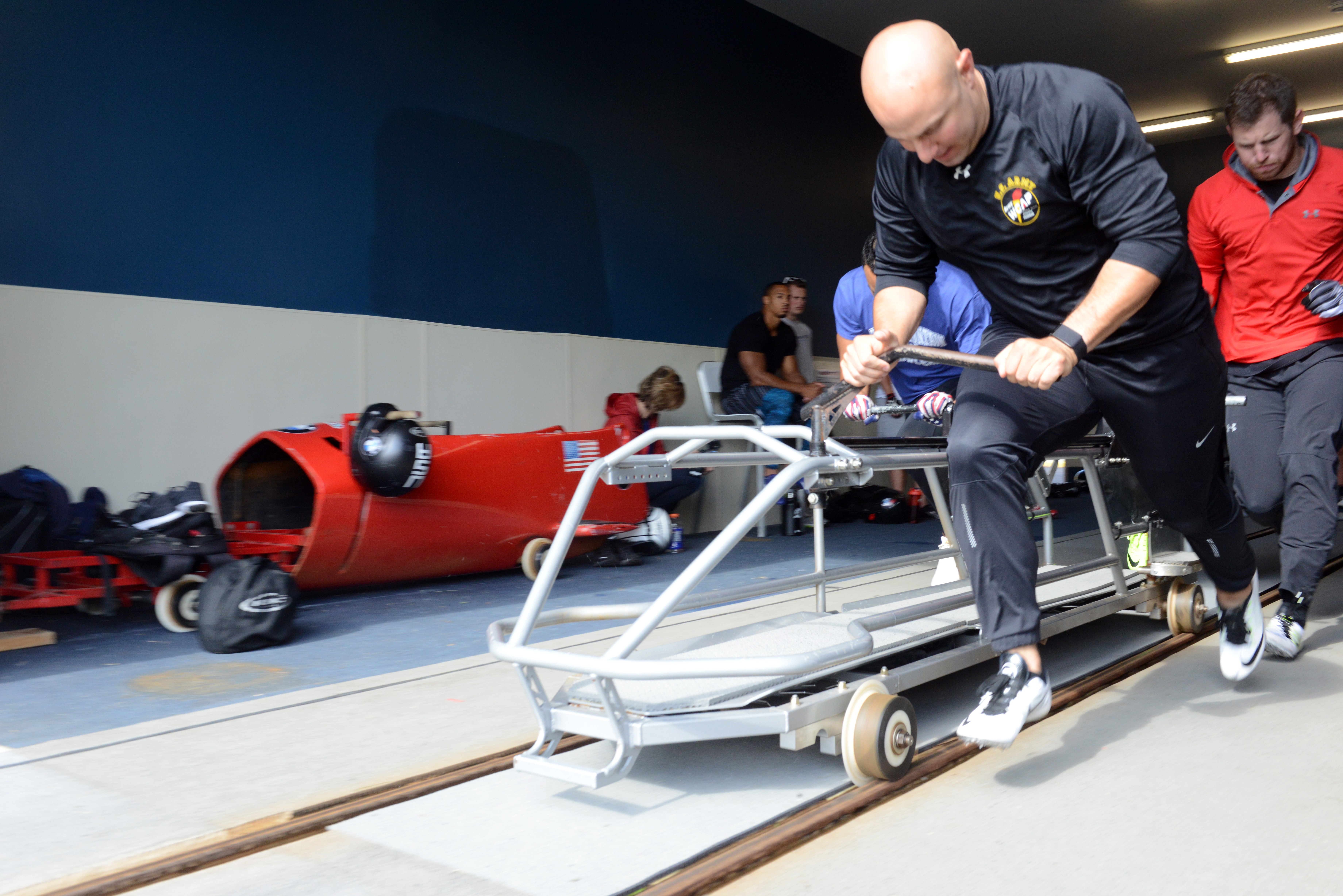 Bobsledder Drives For Perfection As Winter Olympics