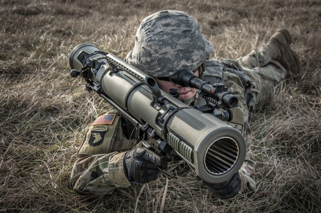 The Army plans to purchase 1,111 M3E1 units and field them to Soldiers, as part of an Urgent Material Release. A key benefit of the M3E1 is that it can fire multiple types of rounds, giving Soldiers increased capability in battle.