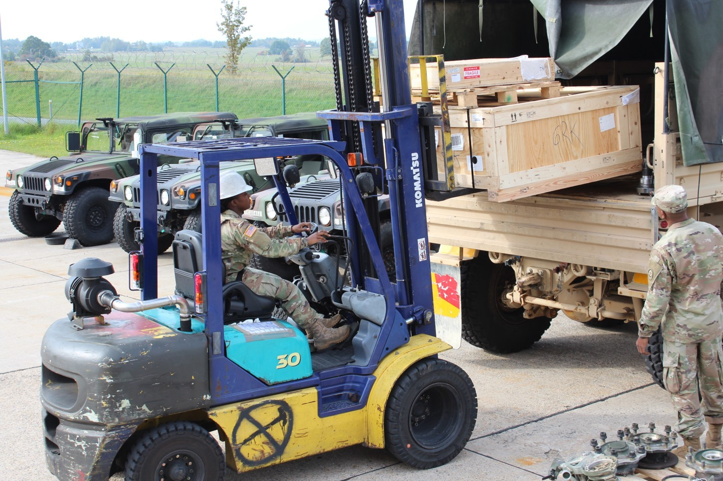 2d Cav Regt Logisticians Win Supply Excellence Award