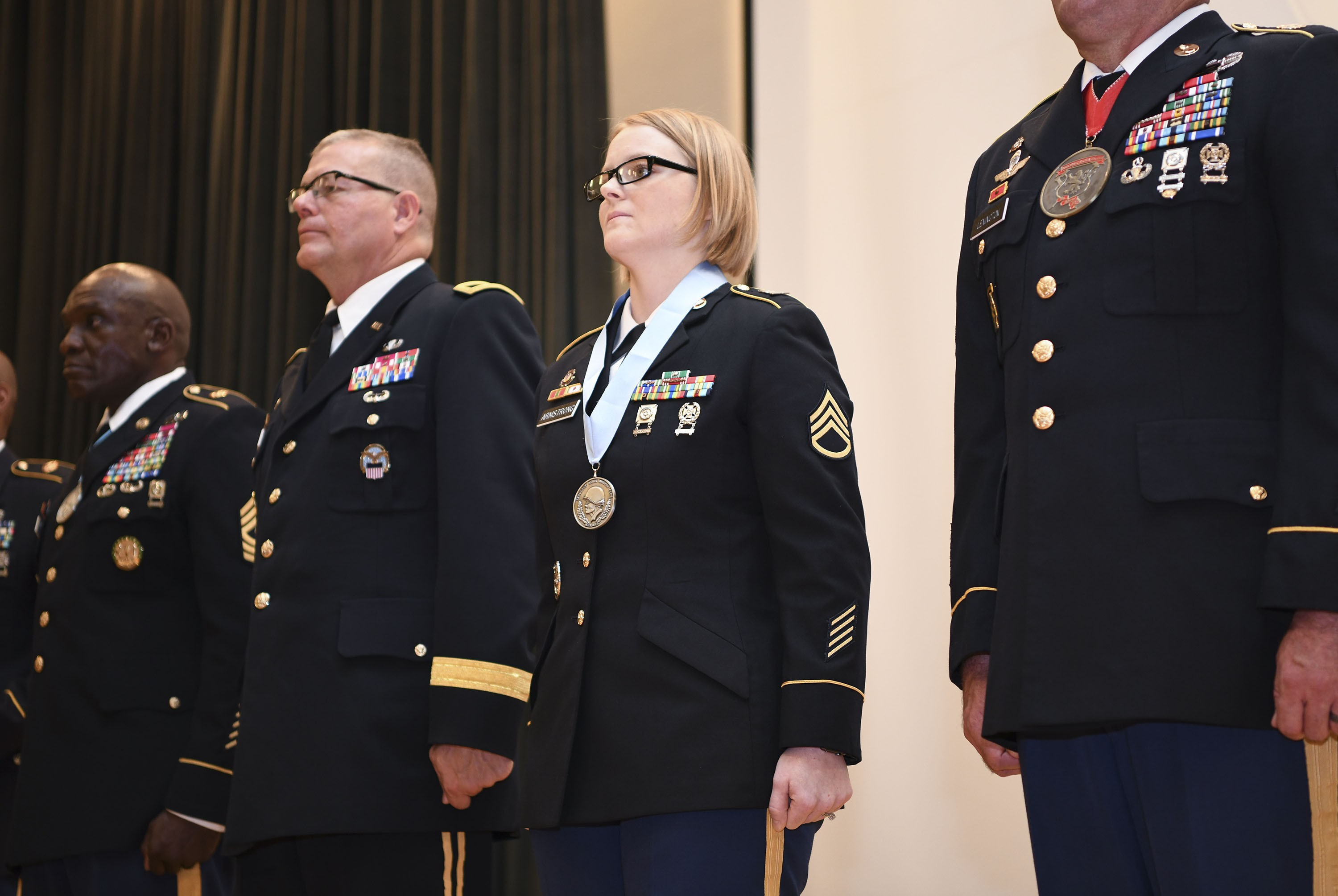 Career Counselor Reaches Career Milestone With Induction Into Sergeant Aumurphy Club