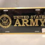 Army Crest Plate