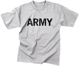 Army PT Tee