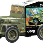 Military Jeep Tin Puzzle