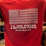USAHEC Flag Tee Red rotated