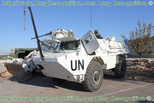 The VAB is the standard armoured vehicle for engineer combat team of French Army.