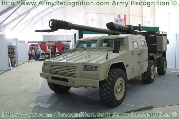 SH2 wheeled self-propelled howitzer 122mm technical data ...