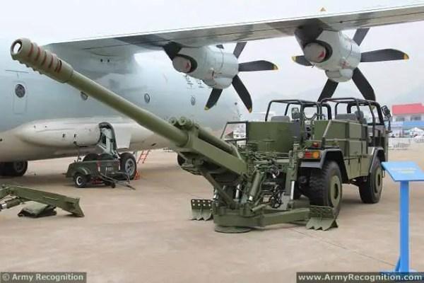 Chinese Air Force presents new CS/SH-1 122mm 4x4 self ...